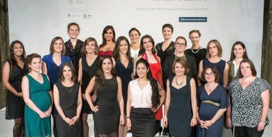 Bourses l'Oréal Unesco lauréates