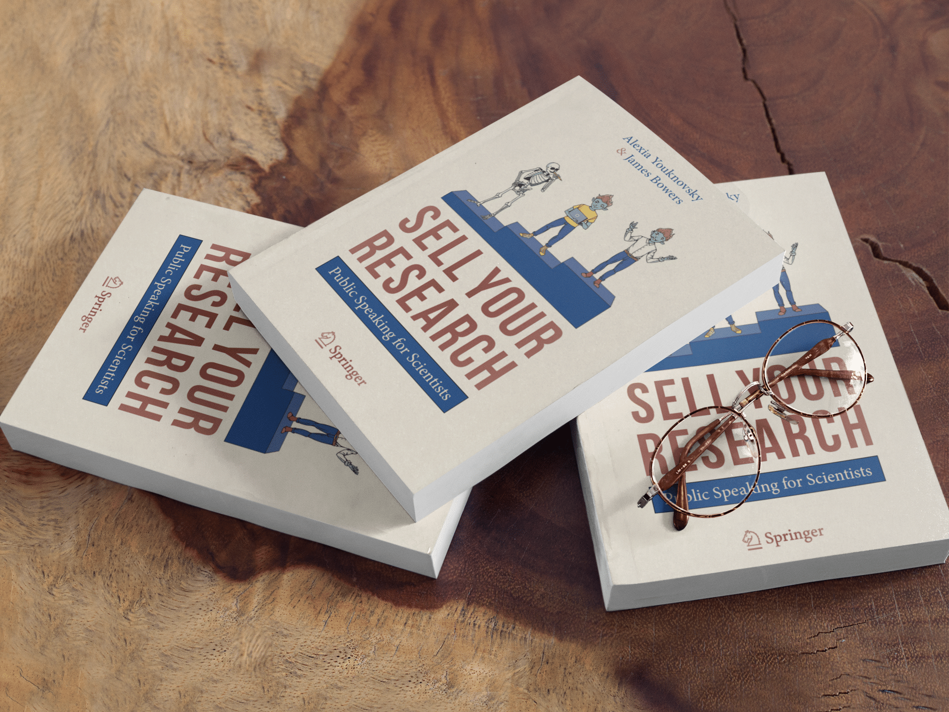 Livre Sell Your Research : Public Speaking for Scientists, guide de prise de parole en public pour les scientifiques