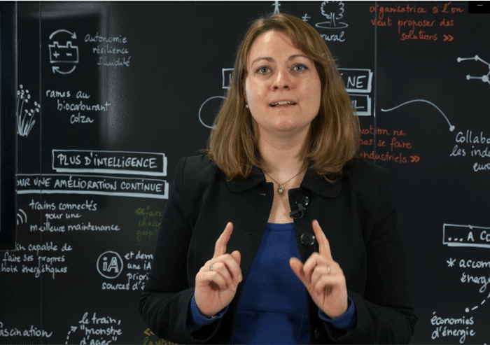 Concours d'innovation experts SNCF Trophées Synapses Inside Oriane Didry