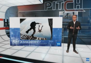 Un chercheur de l'ULB dans l'émission de TV belge PITCH