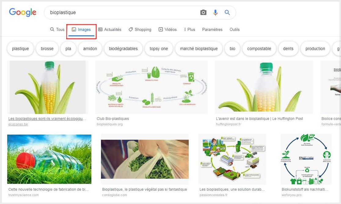 """Résultats de la recherche """"bioplastique"""" dans les images"""