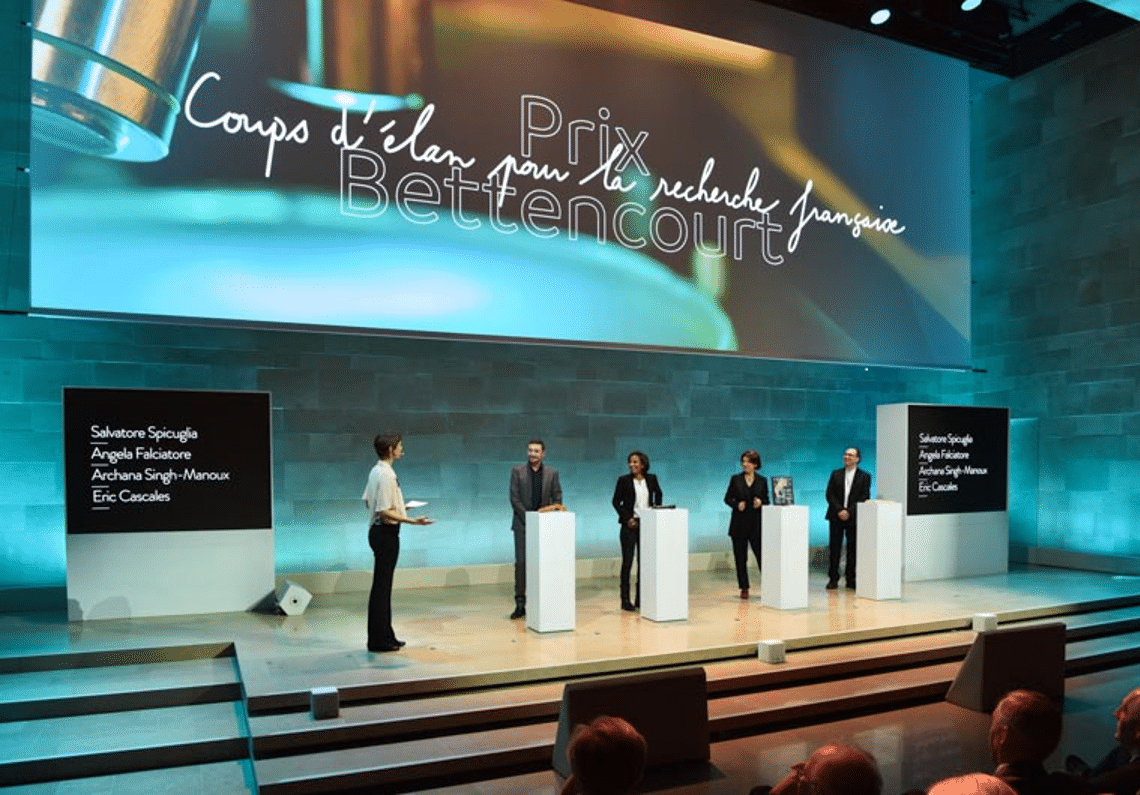 Prix Bettencourt : cérémonie de remise de prix scientifiques