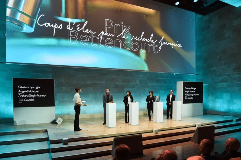 Prix Bettencourt : remise de prix scientifiques