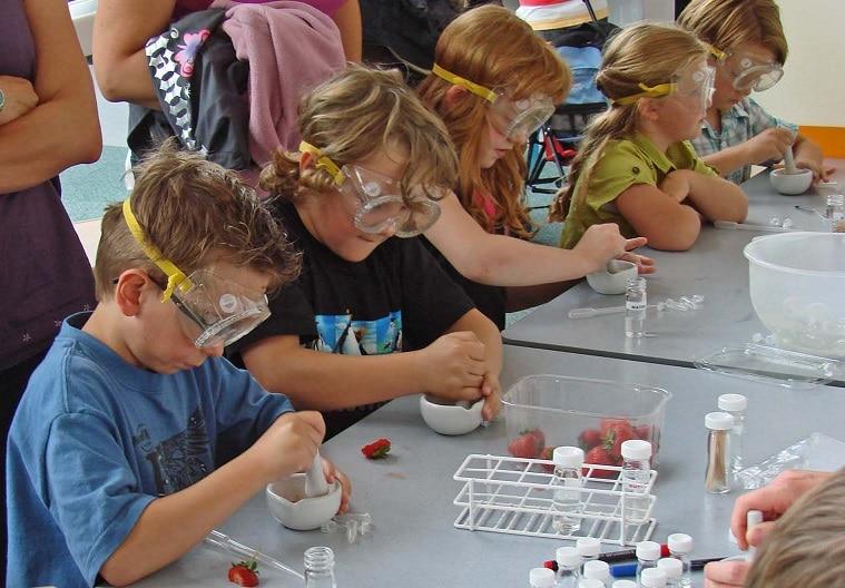 Atelier scientifique pour les enfants