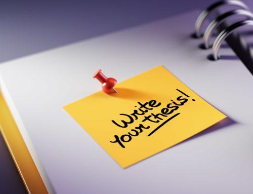 5 conseils pour rédiger sa thèse