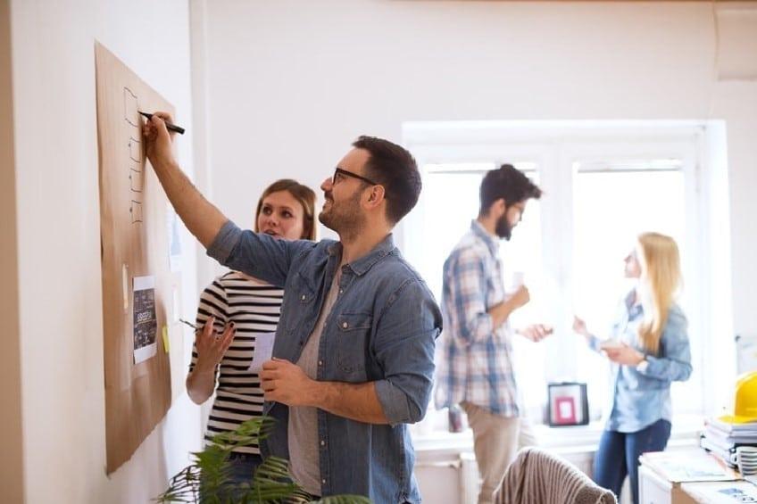 Séance de design thinking