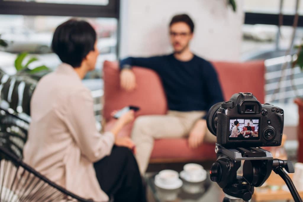 Interview filmée
