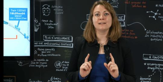 Oriane Didry, participante des Trophées Synapses Inside, le concours d'innovation experts SNCF