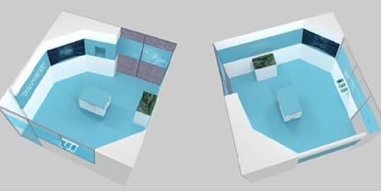 Conception d'un showroom pour un département R&T