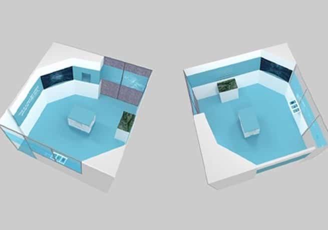 Showroom pour un département R&T